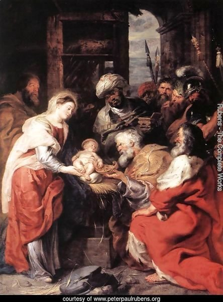 Adoration of the Magi 1626-29
