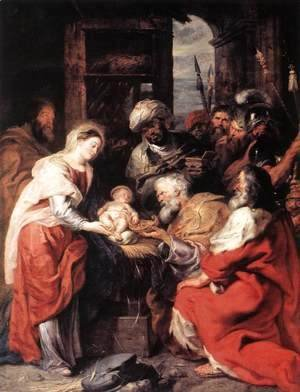 Rubens - Adoration of the Magi 1626-29