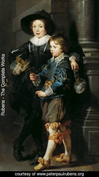 Rubens - Albert and Nicolaas Rubens 1626-27