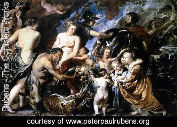 Rubens - Allegory on the Blessings of Peace 1629-30