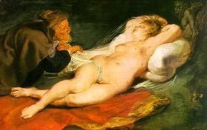 Rubens - Angelica and the Hermit  1630s
