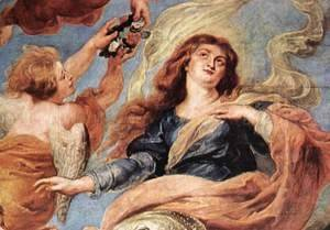 Rubens - Assumption of the Virgin (detail-1) 1626