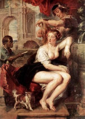 Bathsheba at the Fountain c. 1635
