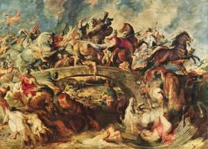 Rubens - Battle of the Amazons 1618