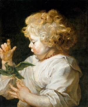 Rubens - Boy with Bird c. 1616