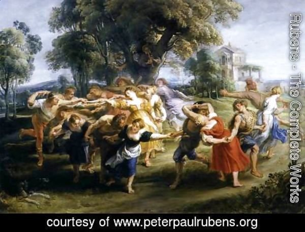 Rubens - Dance of Italian Villagers c. 1636