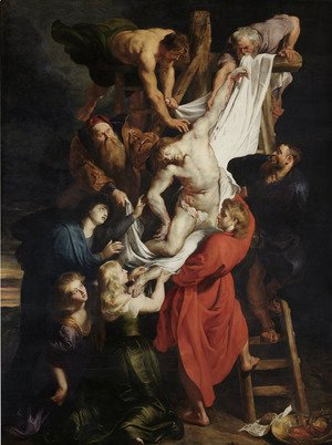 Rubens - Descent from the Cross (centre panel) 1612-14