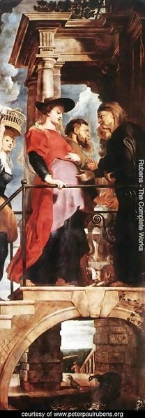 Rubens - Descent from the Cross (left wing) 1612-14