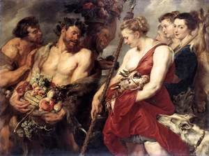Rubens - Diana Returning from Hunt c. 1615