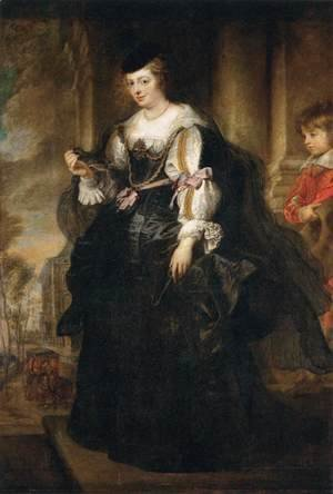 Helena Fourment with a Carriage 1639