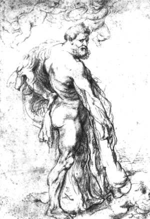 Rubens - Hercules Crowned by Genii c. 1621