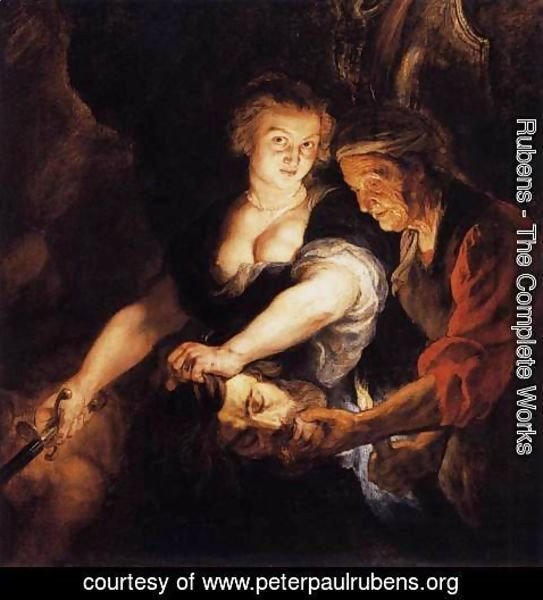 Rubens - Judith with the Head of Holofernes c. 1616