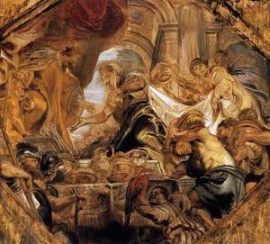 Rubens - King Solomon and the Queen of Sheba 1620