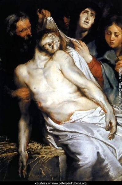 Lamentation (Christ on the Straw) 1617-18