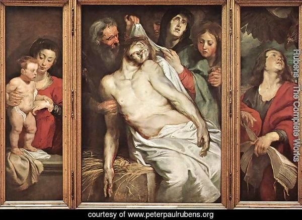 Lamentation of Christ 1617-18