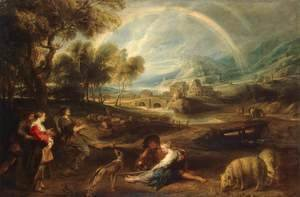 Rubens - Landscape with a Rainbow 1632-35