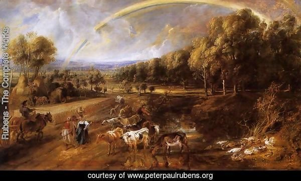 Landscape with a Rainbow c. 1638
