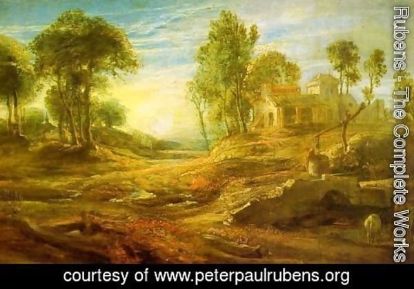 Rubens - Landscape with a Watering Place