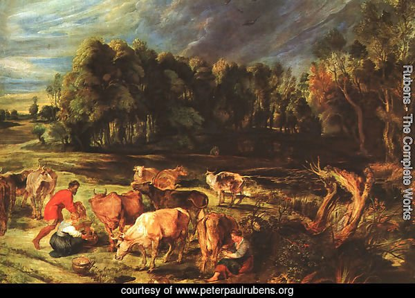 Landscape with Cows c. 1636