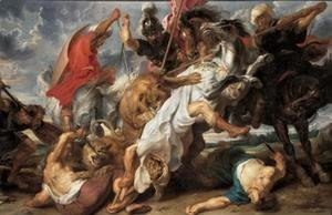Rubens - Lion Hunt c. 1621