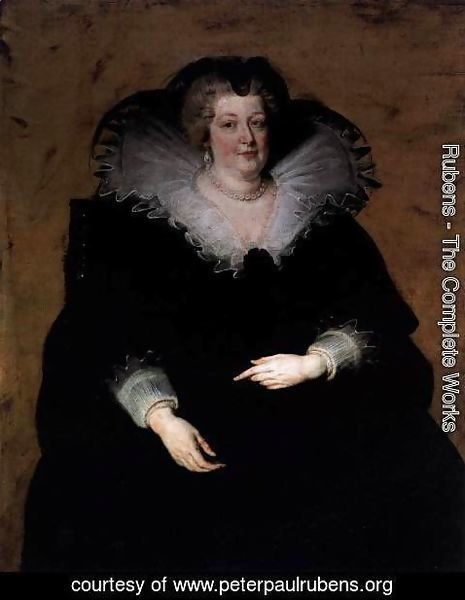 Rubens - Marie de Medici, Queen of France c. 1622