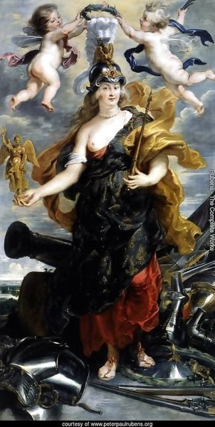 Marie de Medicis as Bellona 1622-25