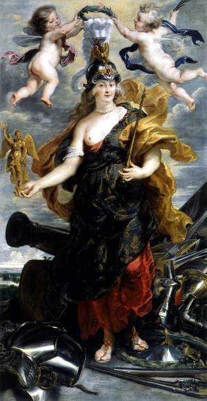 Rubens - Marie de Medicis as Bellona 1622-25