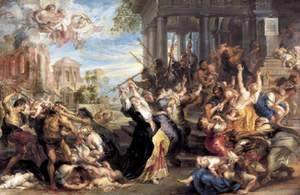 Rubens - Massacre of the Innocents c. 1637