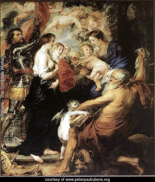 Our Lady with the Saints 1634