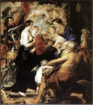 Rubens - Our Lady with the Saints 1634