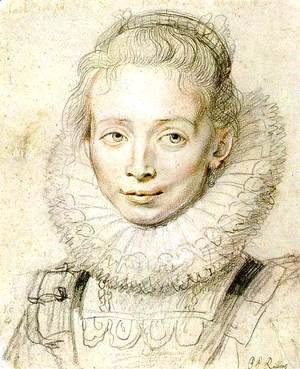 Rubens - Portrait of a Chambermaid (2) c. 1625