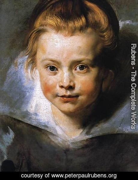 Rubens - Portrait of a Young Girl 1615-16
