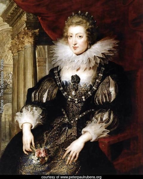 Portrait of Anne of Austria 1621-25