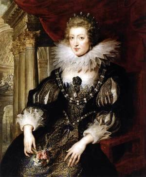 Rubens - Portrait of Anne of Austria 1621-25