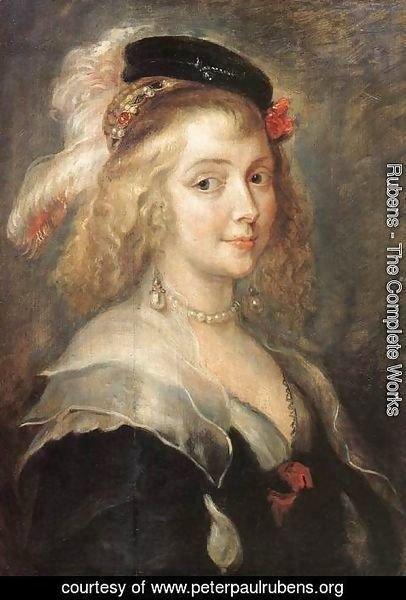 Rubens - Portrait of Helena Fourment c. 1630