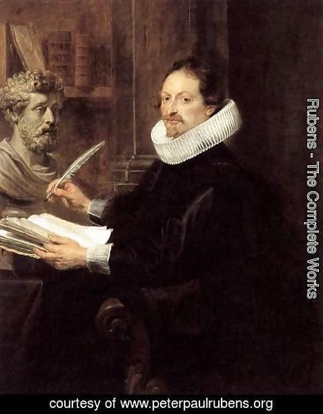 Rubens - Portrait of Jan Gaspar Gevartius c. 1628