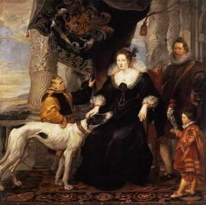 Rubens - Portrait of Lady Arundel with her Train 1620