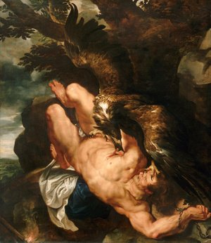 Rubens - Prometheus Bound 1610-11