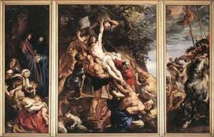 Rubens - Raising of the Cross 1610