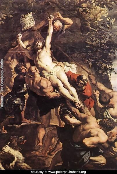 Raising of the Cross (detail-1) 1610
