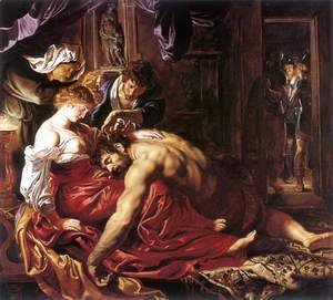 Rubens - Samson and Delilah c. 1609