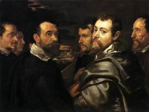 Rubens - Self-Portrait in a Circle of Friends from Mantua