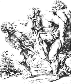 Rubens - Silenus (or Bacchus) and Satyrs c. 1616