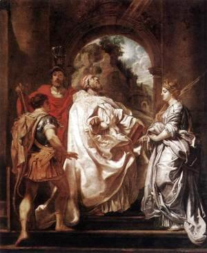 Rubens - St Gregory the Great with Saints 1606