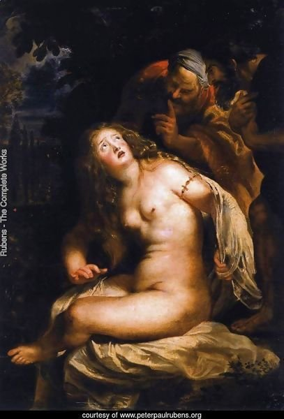 Susanna and the Elders 1607-08