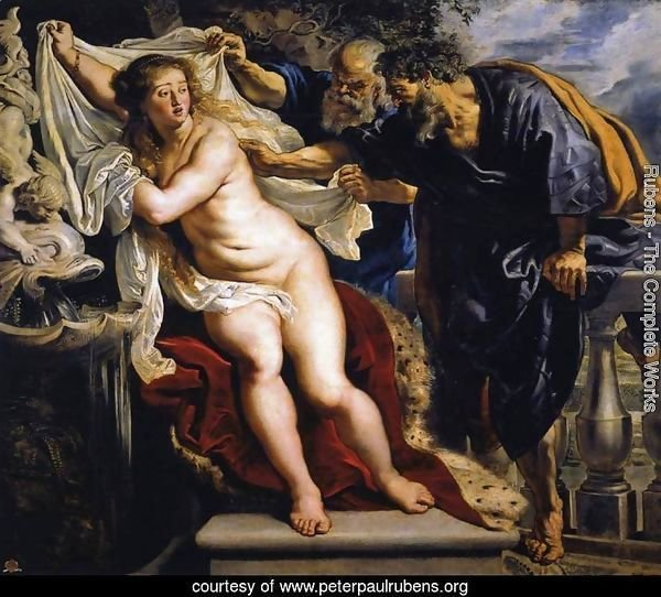 Susanna and the Elders 1609-10