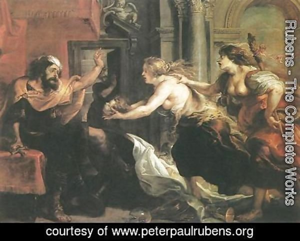 Rubens - Tereus Confronted with the Head of his Son Itylus 1636-38
