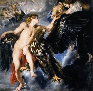 Rubens - The Abduction of Ganymede 1611-12