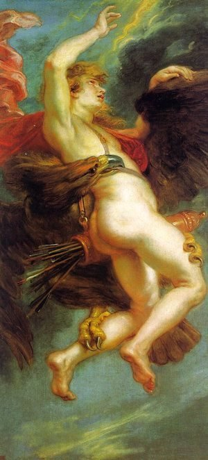 Rubens - The Abduction of Ganymede