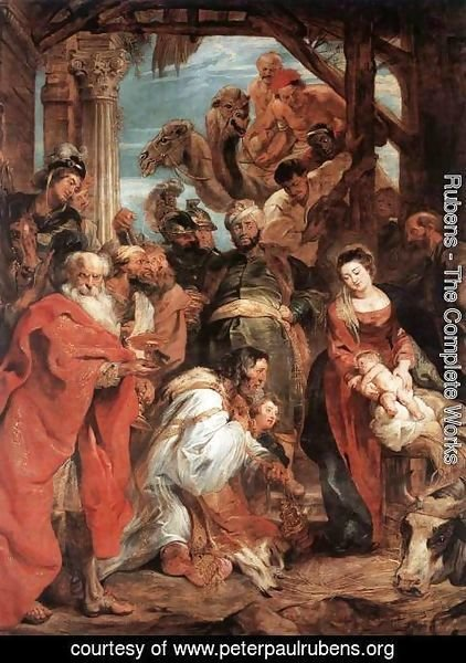Rubens - The Adoration of the Magi 1624